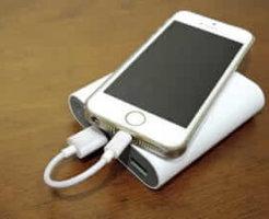 iPhone充電中 (1)